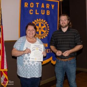 Hudson Rotary Mtg ScarecrowInduction - 2018-10-12 03.00.51 (Cheryl R.)